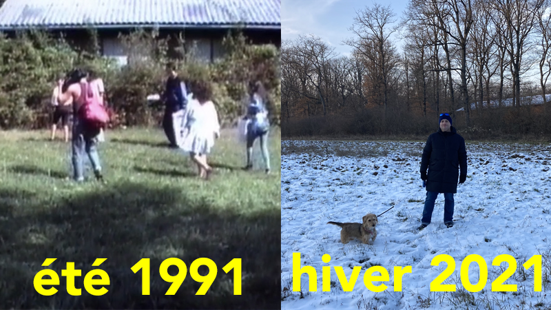 3 PSYCHOPATHES PHOTOS 1991 et 2021